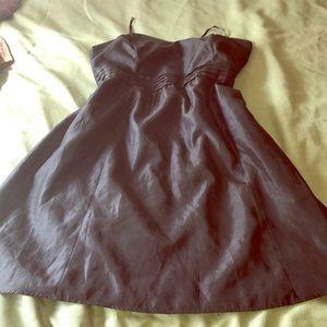 Formal Black Strapless Dress